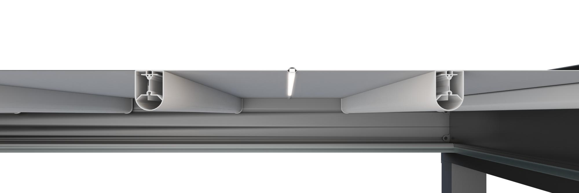 Sunpro - Verlichting in doek